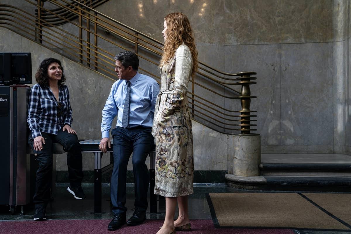 Hugh Grant Nicole Kidman HBO The Undoing Photograph by Niko Tavernise/HBO