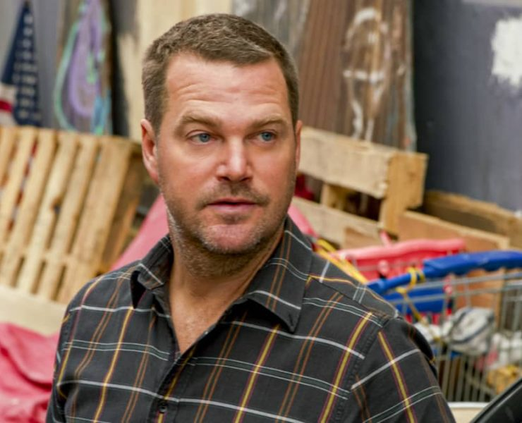 """""""Angry Karen"""" - Pictured: Chris O'Donnell (Special Agent G. Callen). When Nell sends Sam to meet an informant who plans to blow the whistle on a military secret, Hanna's life is in danger when the man tries to run him down and kill him. Also, Kensi and Deeks debate whether or not to buy their first house, on NCIS: LOS ANGELES, Sunday, Nov. 22 (8:00-9:00 PM, ET/PT) on the CBS Television Network. Photo: Screen Grab/CBS ©2020 CBS Broadcasting, Inc. All Rights Reserved."""