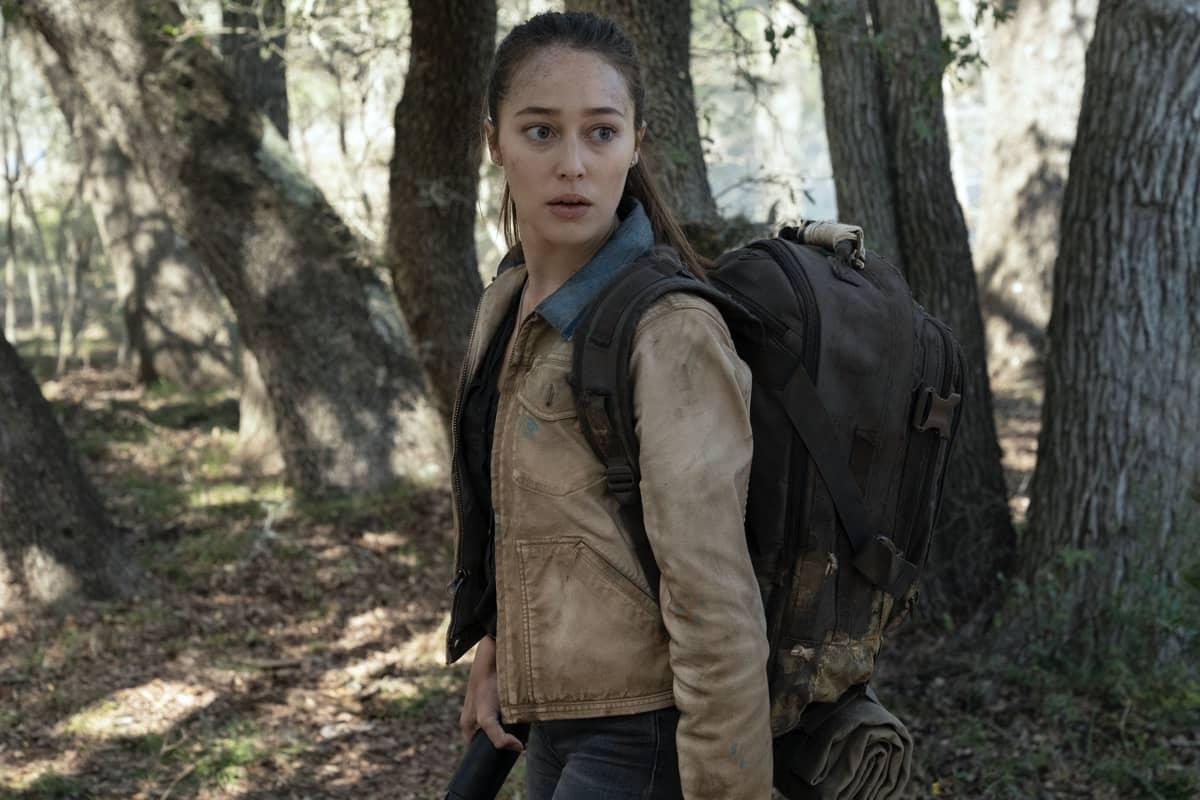 Alycia Debnam-Carey as Alicia Clark - Fear the Walking Dead _ Season 6, Episode 7 - Photo Credit: Ryan Green/AMC