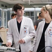 "THE GOOD DOCTOR - ""Not the Same"" – Dr. Morgan Reznik and Dr. Shaun Murphy's pregnant patient with twins is having pain and they are forced to grapple with a decision no one wants to make. Meanwhile, Shaun asks Lea to move back in despite her reservations on an all-new ""The Good Doctor,"" MONDAY, NOV. 23 (10:00-11:00 p.m. EST), on ABC. (ABC/Jeff Weddell) FREDDIE HIGHMORE, FIONA GUBELMANN"