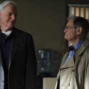 """""""Everything Starts Somewhere"""" – Flashbacks reveal the murder case that first introduced young Gibbs (Sean Harmon) to NCIS and his introduction to young, new-to-America Ducky (Adam Campbell), on the 400th episode of NCIS, Tuesday, Nov. 24 (8:00-9:00 PM, ET/PT) on the CBS Television Network. Pictured: Mark Harmon as NCIS Special Agent Leroy Jethro Gibbs, David McCallum as Medical Examiner Dr. Donald """"Ducky"""" Mallard. Photo: Sonja Flemming/CBS ©2020 CBS Broadcasting, Inc. All Rights Reserved."""