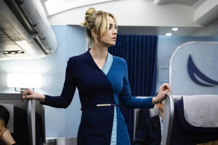 "NOV. 22, 2020 - Kaley Cuoco stars in ""The Flight Attendant,"" premiering Thursday on HBO Max."
