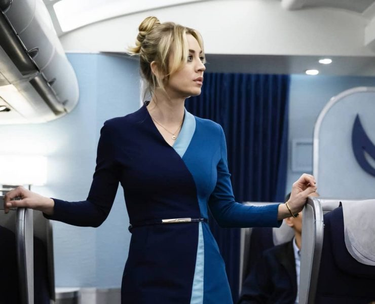 "NOV. 22, 2020 - Kaley Cuoco stars in ""The Flight Attendant,"" premiering Thursday on HBO Max."