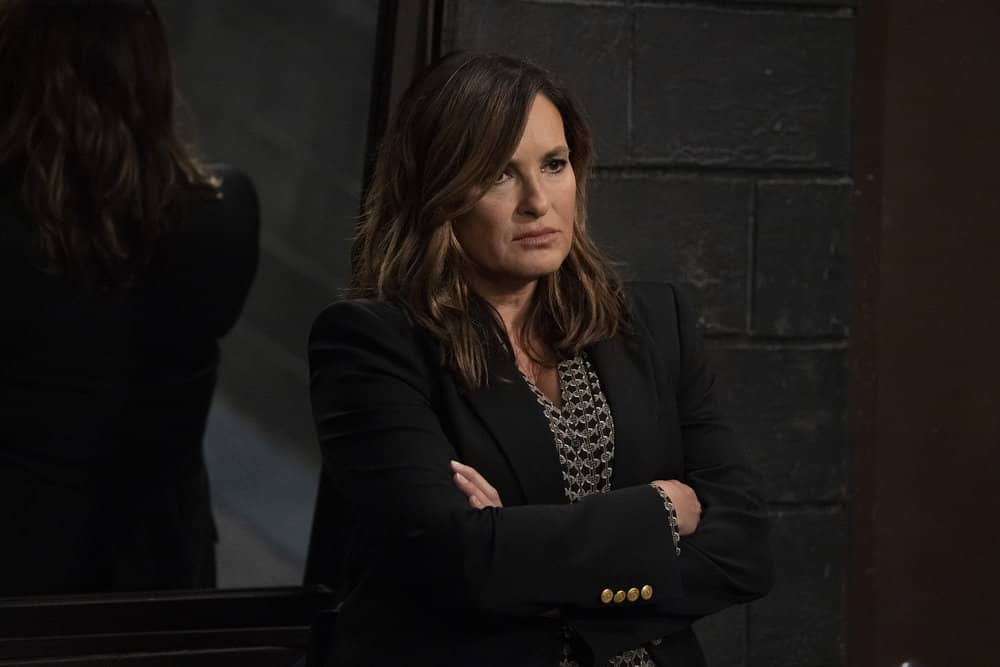 "LAW & ORDER: SPECIAL VICTIMS UNIT -- ""Remember Me In Quarantine"" Episode 22001 -- Pictured: Mariska Hargitay as Captain Olivia Benson -- (Photo by: Virginia Sherwood/NBC)"