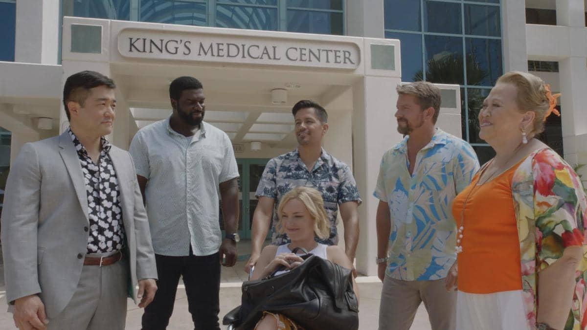 Group OutsideKingsHospital