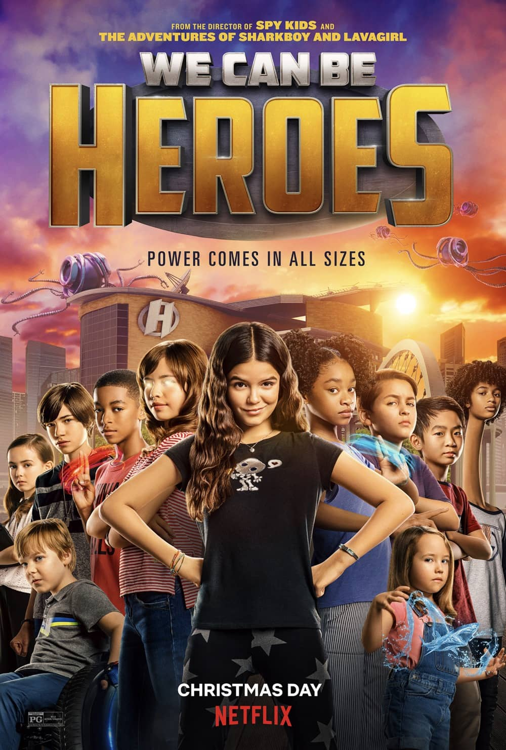 We Can Be Heroes Character Poster