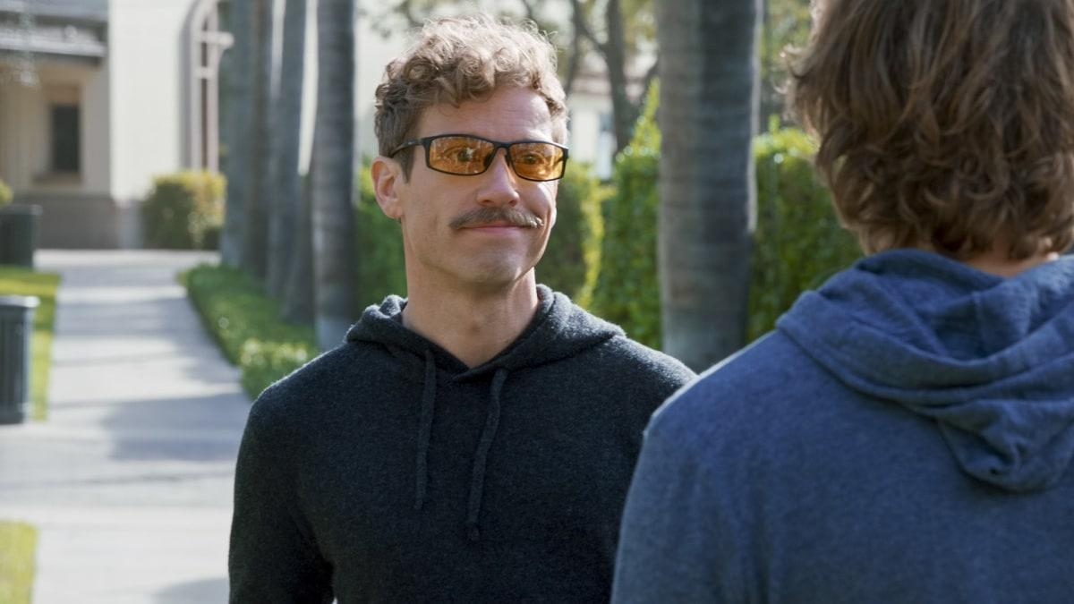 Eric Beale Moustache NCIS Los Angeles