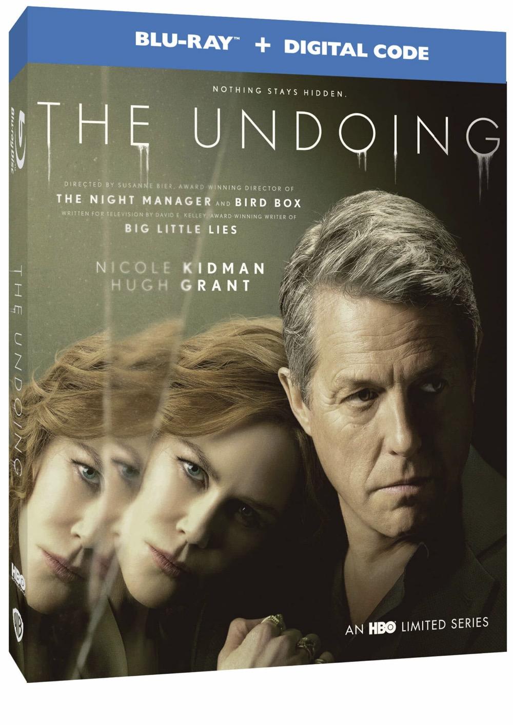 The Undoing Blu-ray + Digital Code Box Cover Artwork