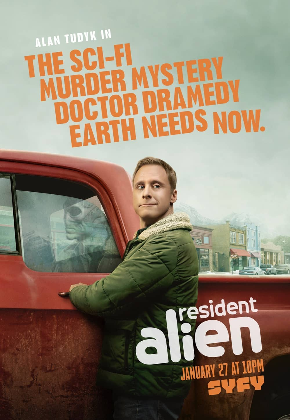 SYFY'S RESIDENT ALIEN Trailer And Poster Key Art | SEAT42F