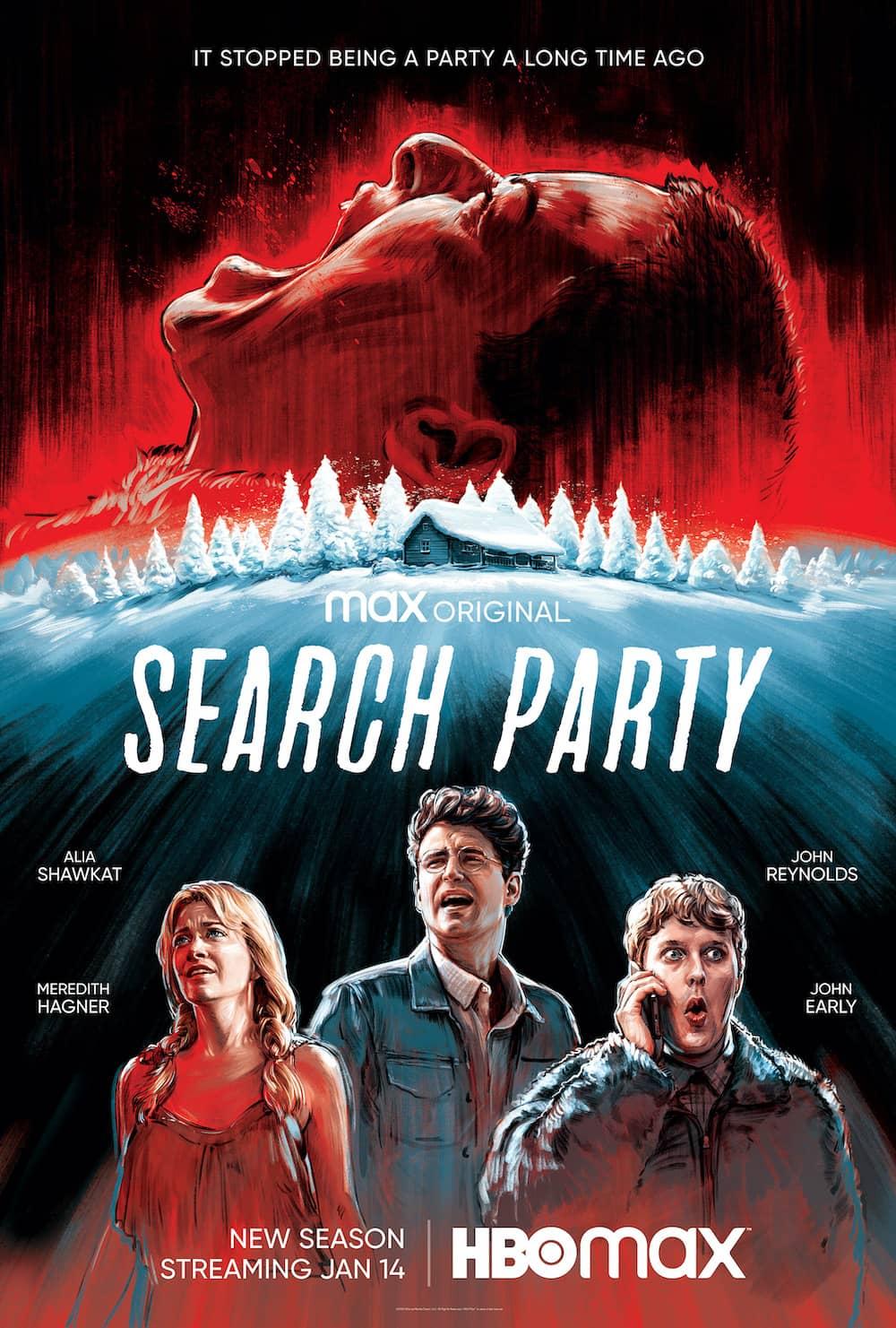 Search Party Season 4 Poster Key Art
