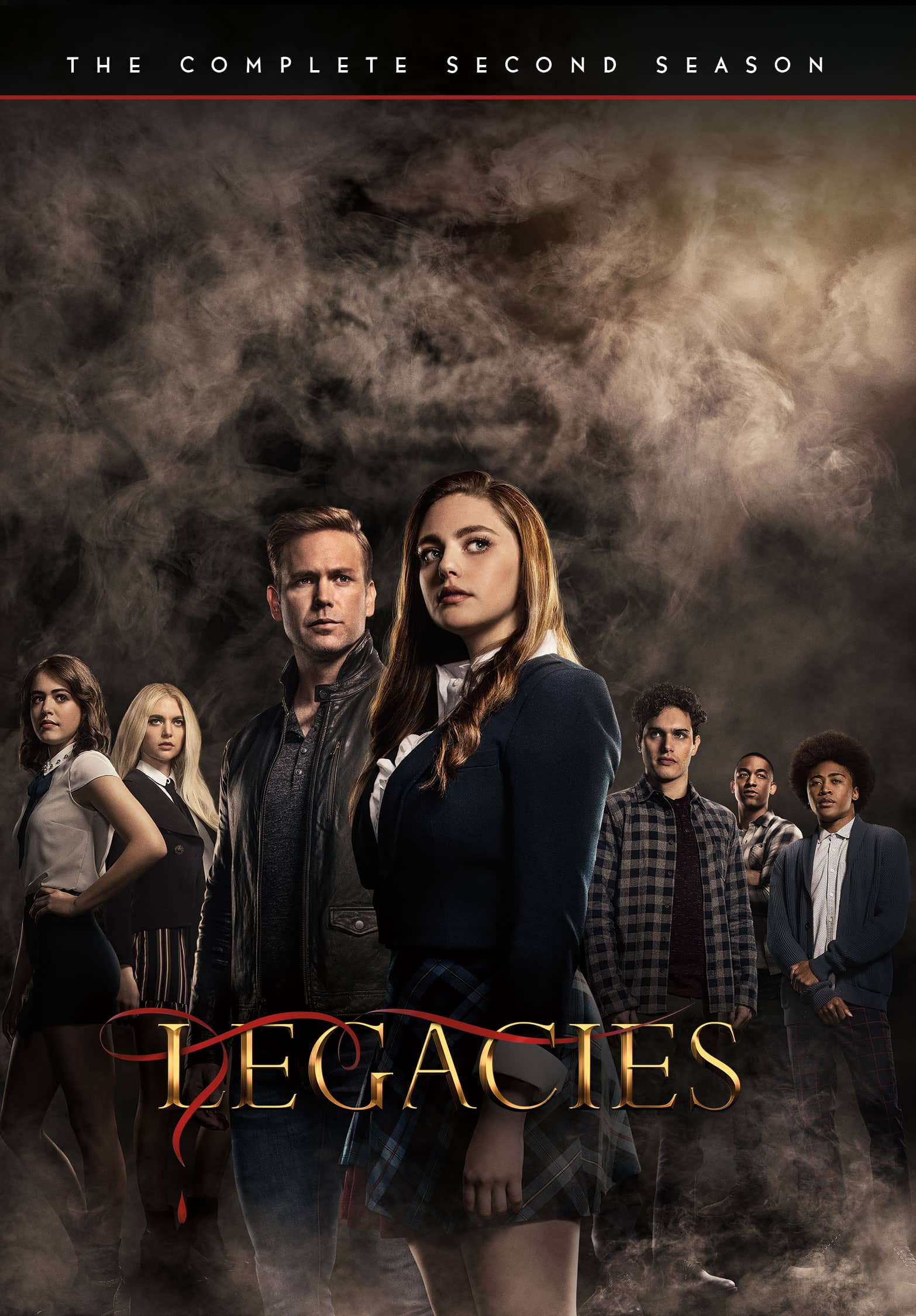 Legacies Season 2 Box Cover Artwork