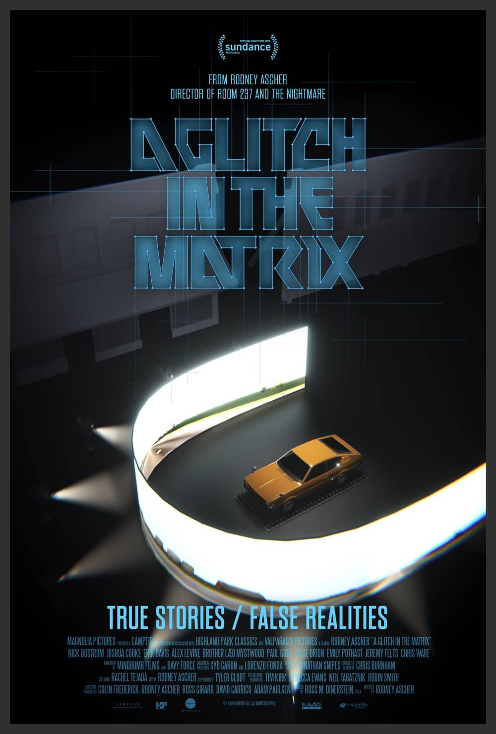 A GLITCH IN THE MATRIX Poster