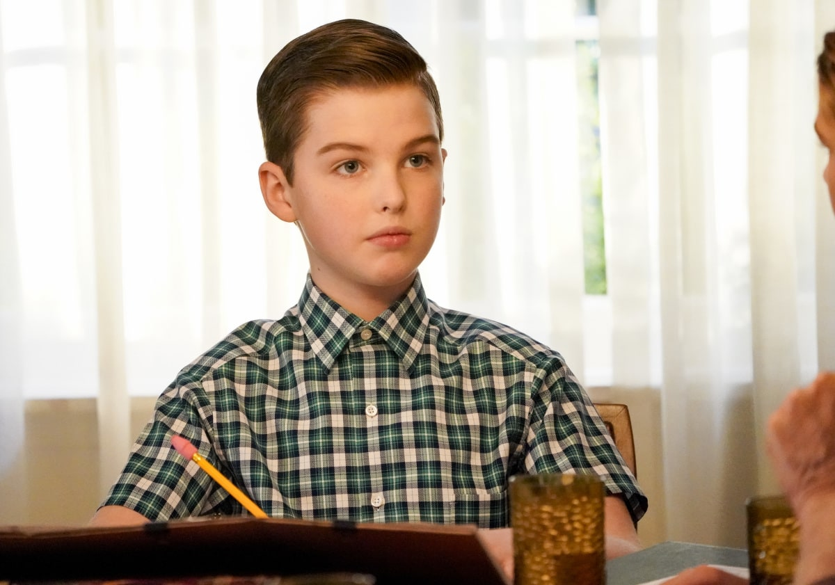 Young Sheldon Season 4 Episode 5 A Musty Crypt and a Stick to Pee On