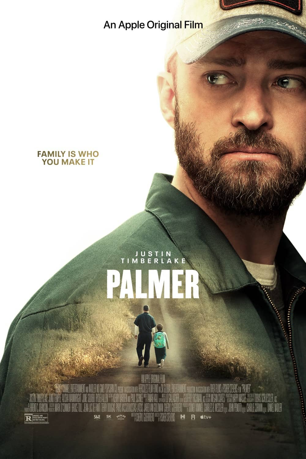 Palmer Poster Key Art Apple TV+ Justin Timberlake