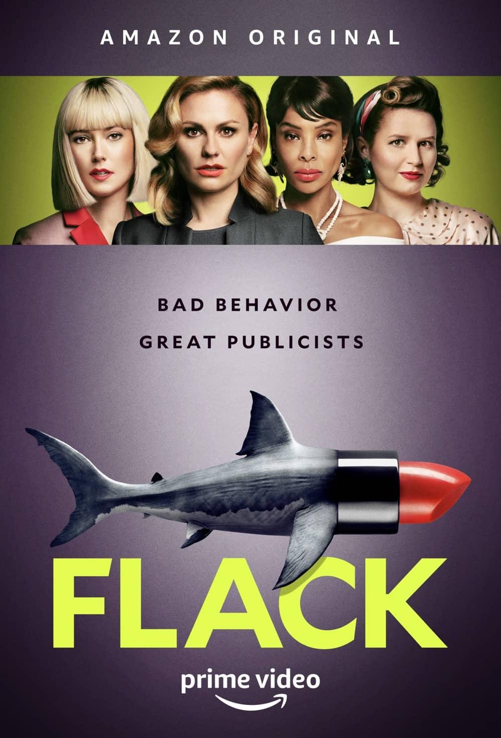 Flack Season 1 Poster Key Art Amazon