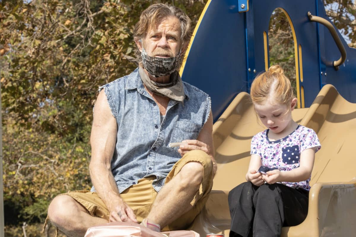 "William H. Macy as Frank Gallagher in SHAMELESS, ""Frances Francis Franny Frank"". Photo Credit: Paul Sarkis/SHOWTIME."