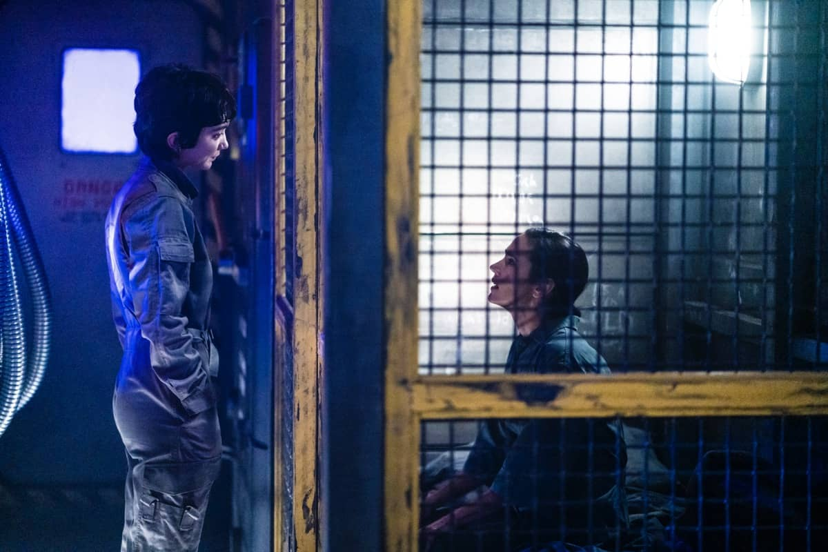 Snowpiercer Season 2 Episode 1 Rowan Blanchard, Jennifer Connelly Photograph by David Bukach