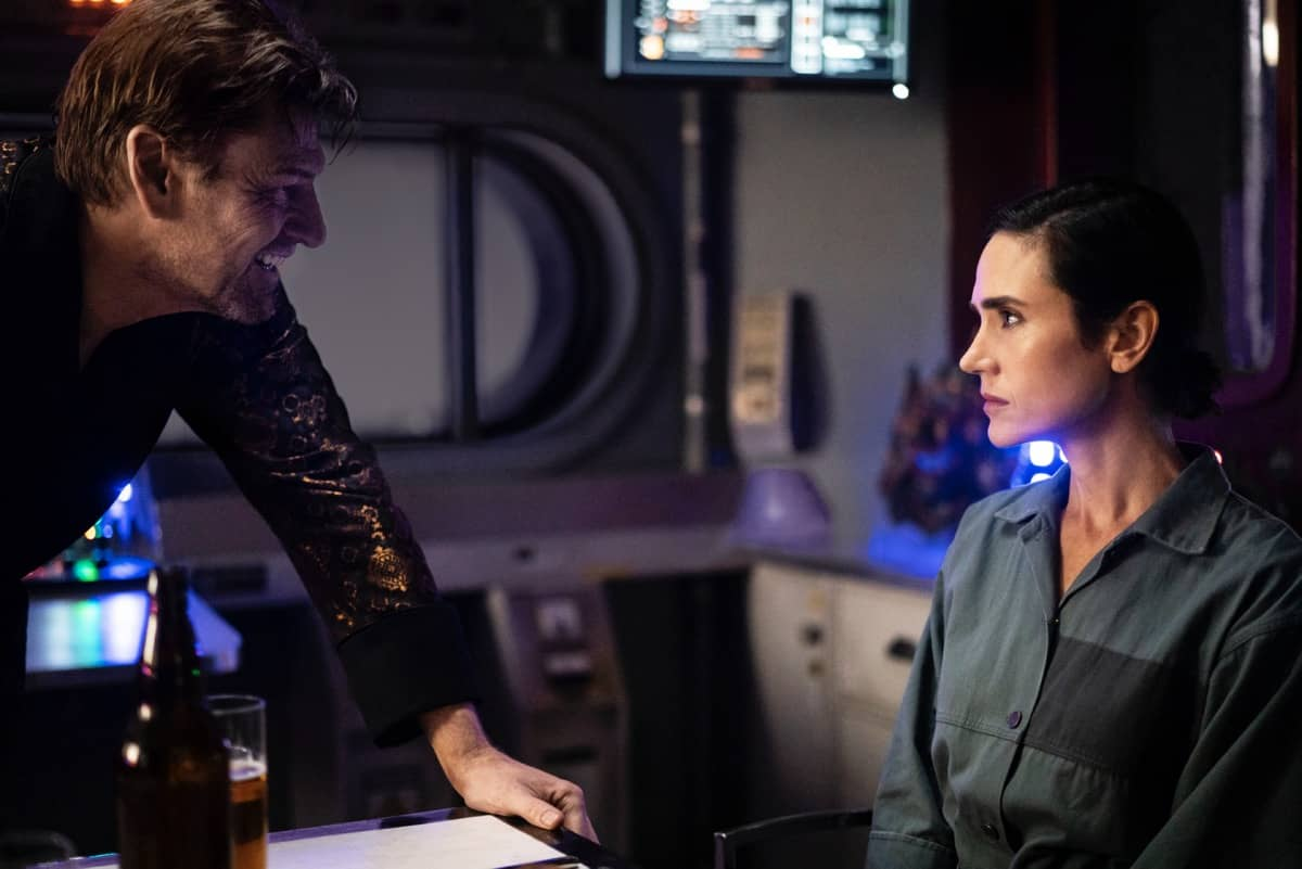 Snowpiercer Season 2 Episode 1 Sean Bean Jennifer Connelly Photograph by David Bukach
