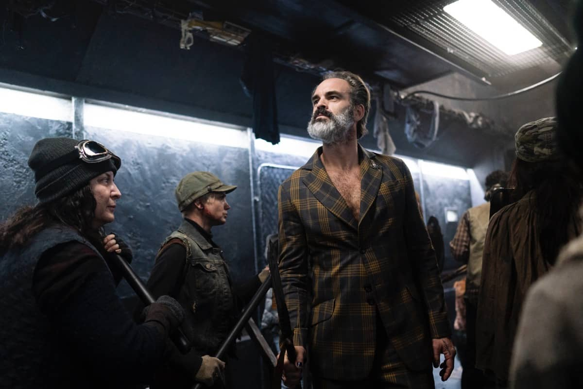 Snowpiercer Season 2 Episode 1 Steven Ogg Photograph by David Bukach
