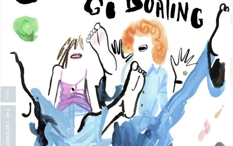 Céline and Julie Go Boating Criterion Collection Bluray Cover