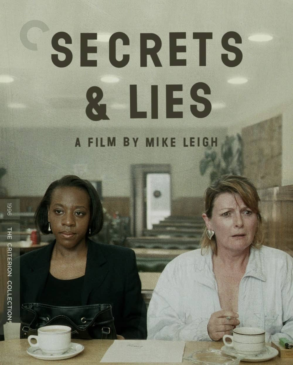 Secrets And Lies Criterion Collection Bluray Cover