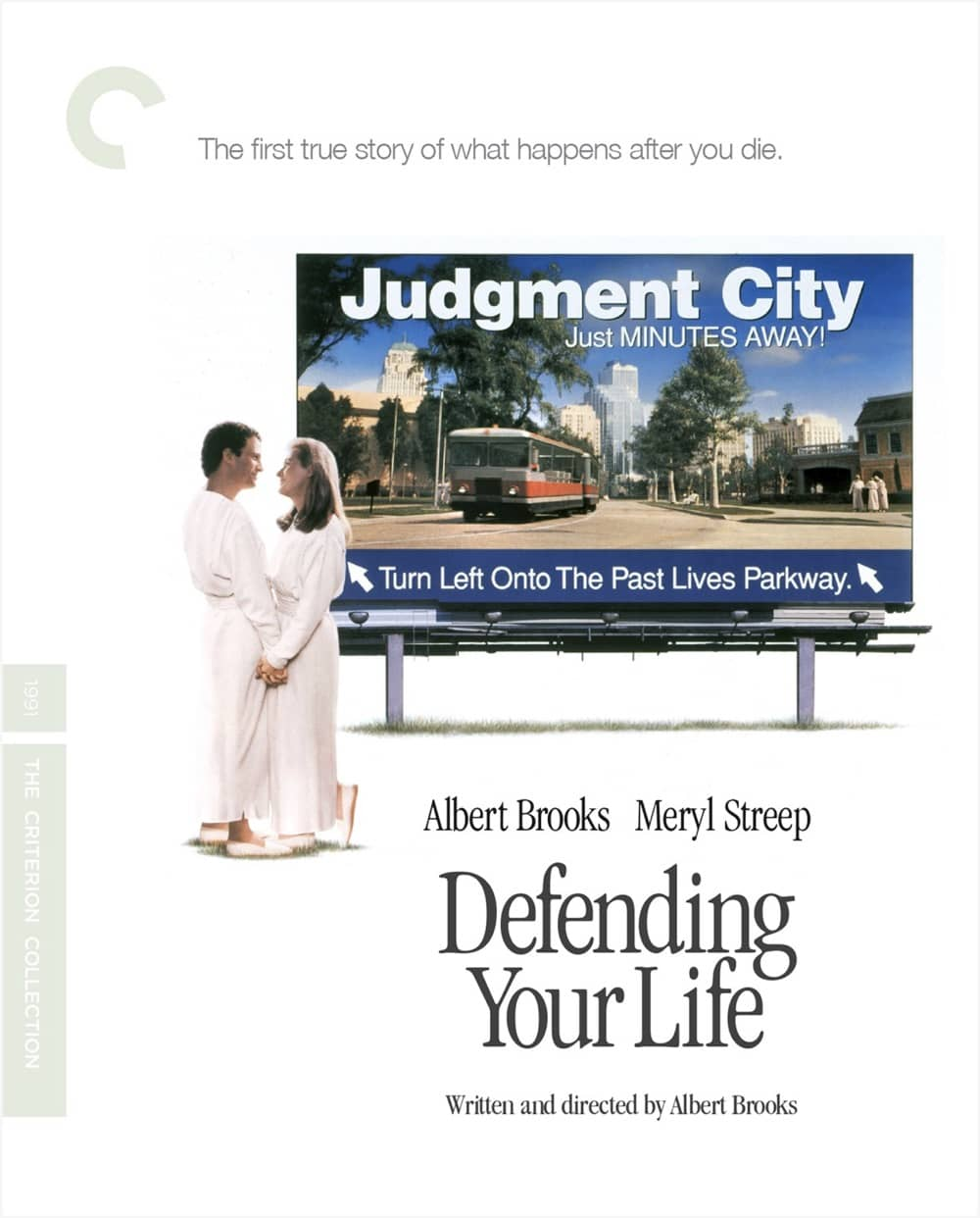 Defending Your Life Criterion Collection Bluray Cover
