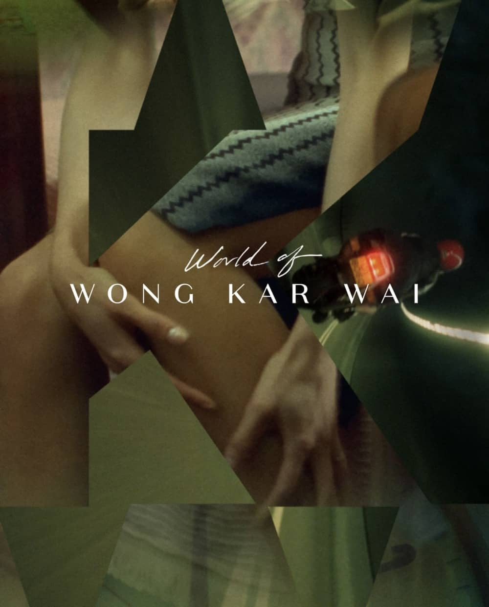 World Of Wong Kar Wai Criterion Collection Bluray Cover