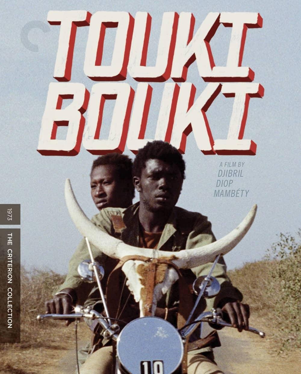 Touki Bouki Criterion Collection Bluray Cover