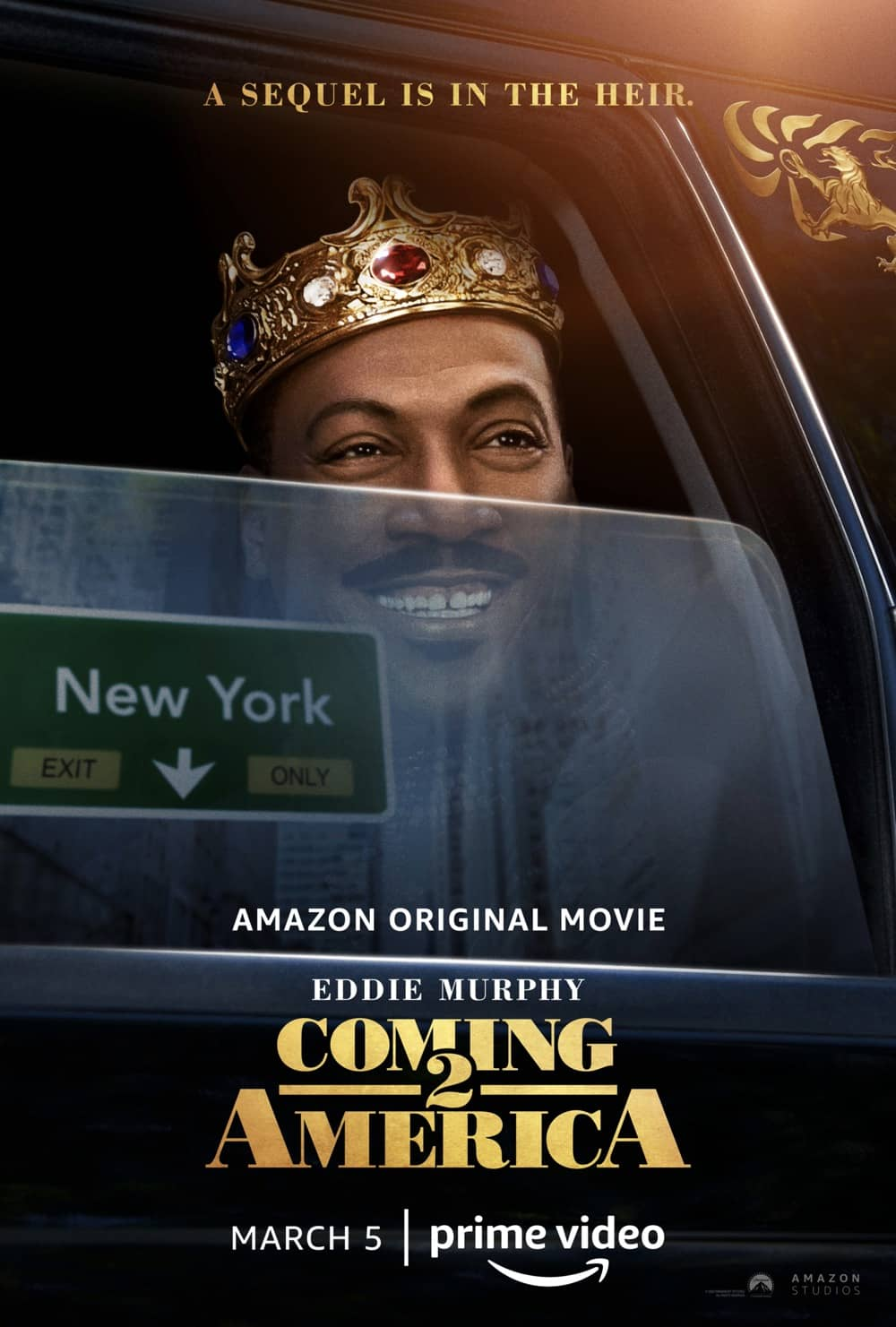 Coming 2 America Movie Poster Eddie Murphy
