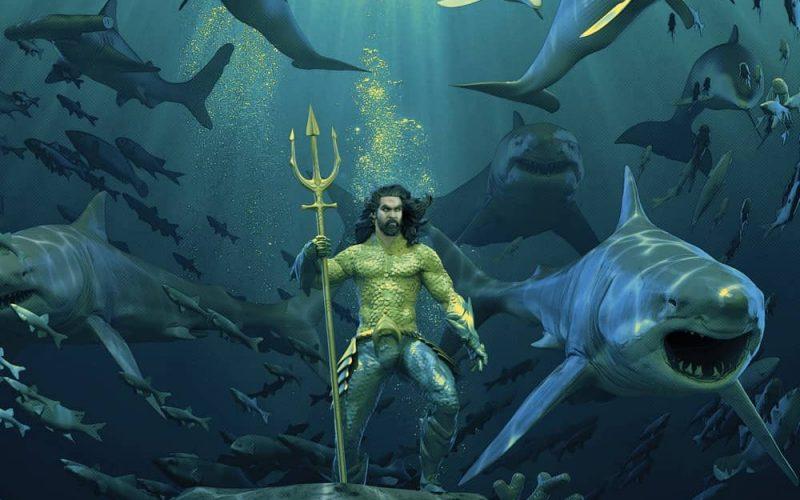Aquaman Mondo Vinyl Cover