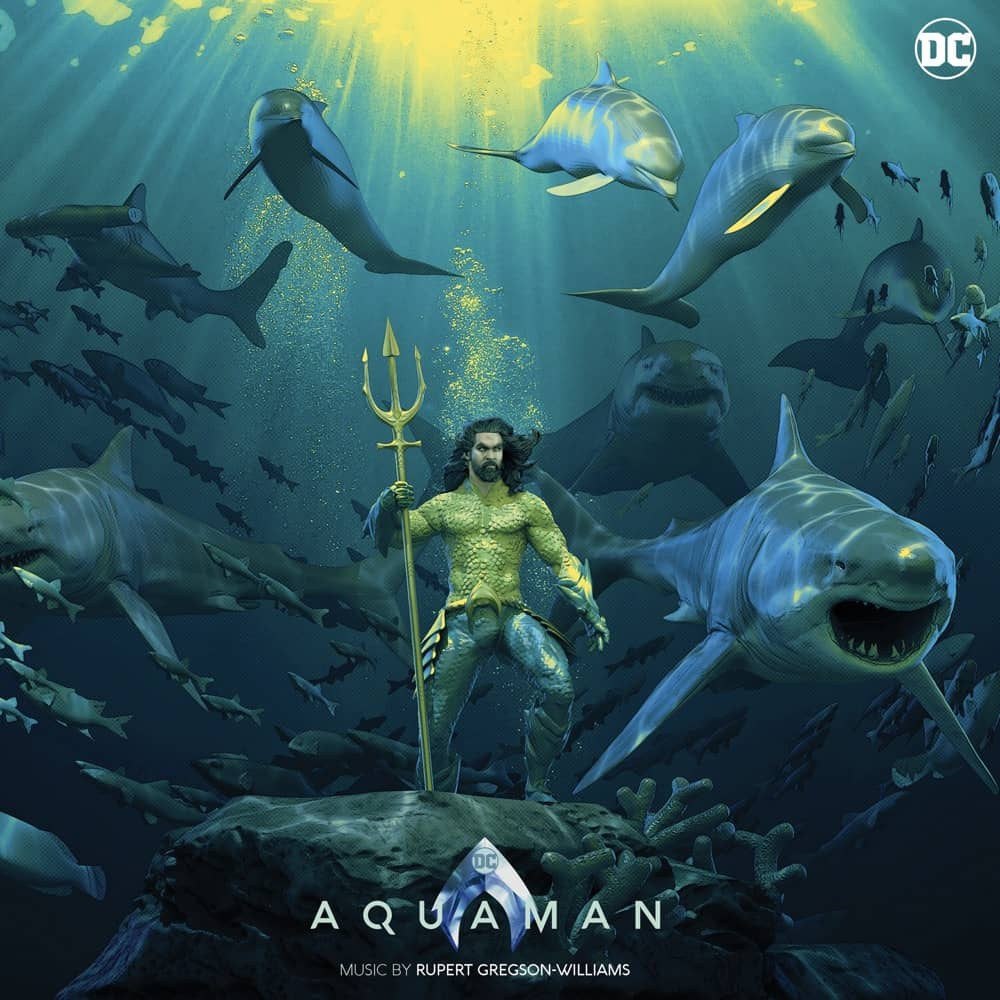 Aquaman Mondo Vinyl Cover