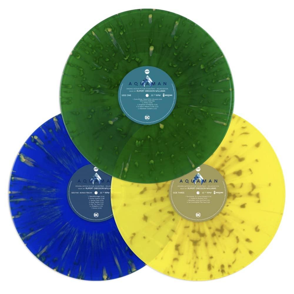 3. AQUAMAN Vinyl