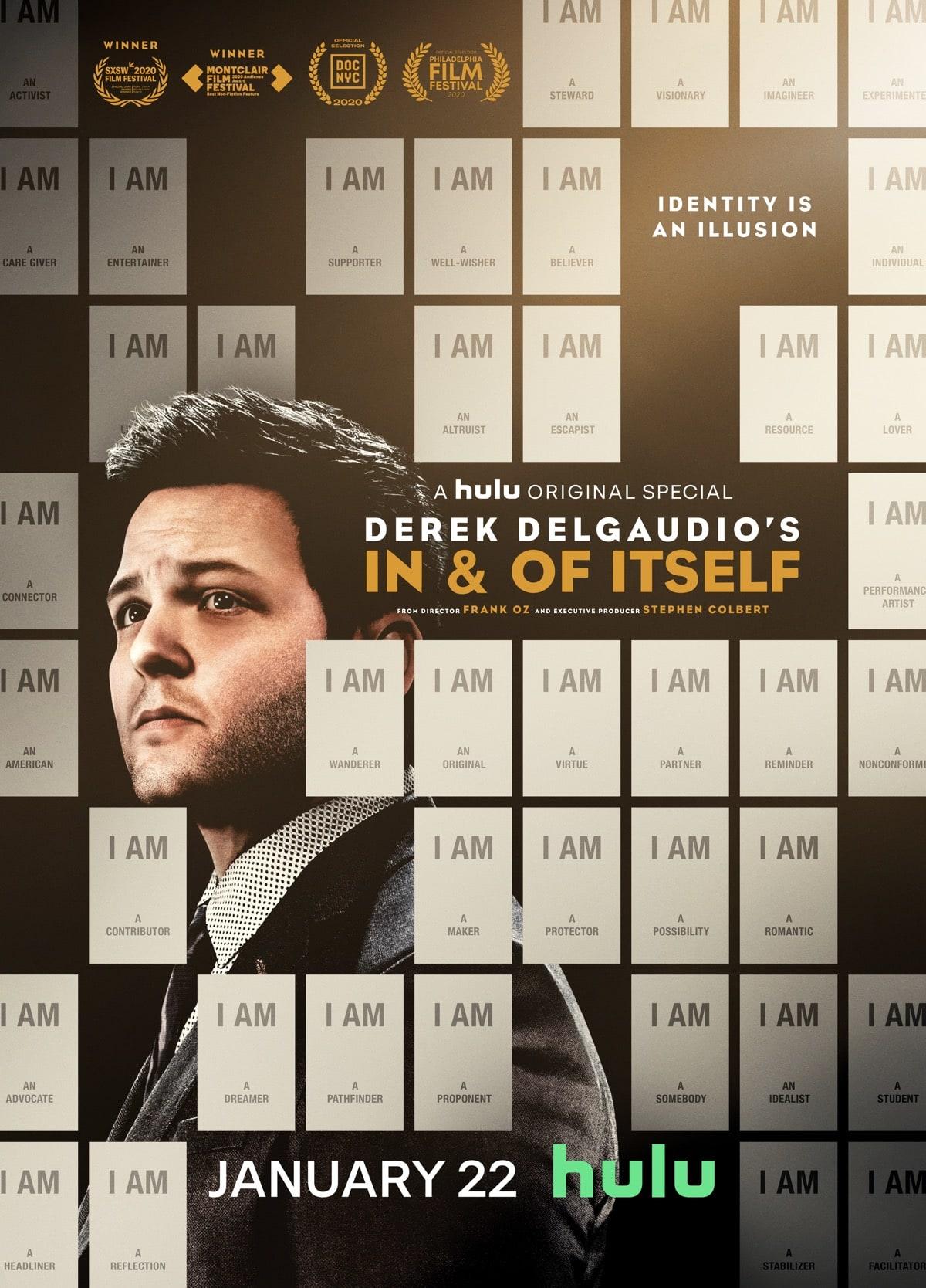 DEREK DELGAUDIO'S IN & OF ITSELF Key Art Poster
