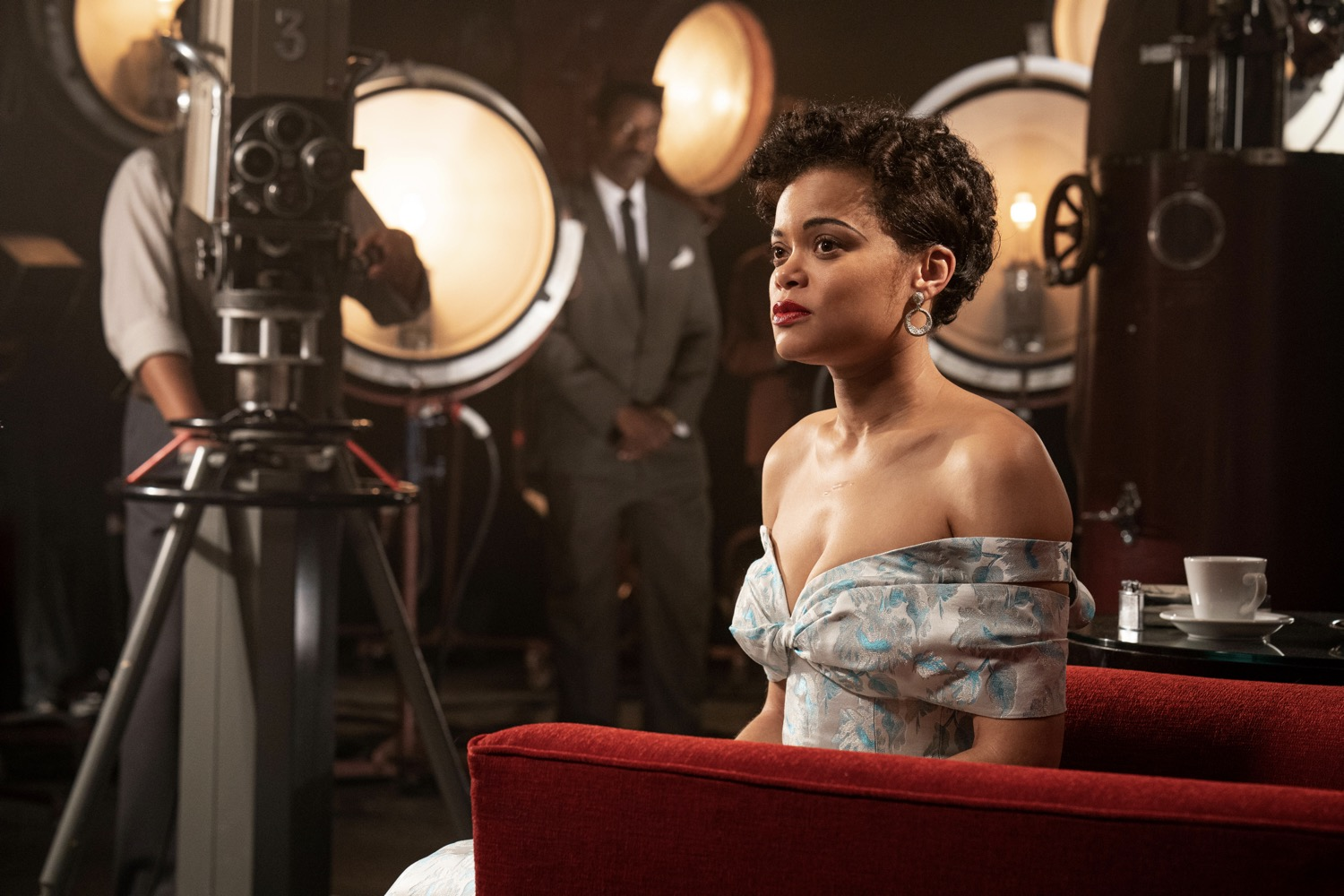 Andra Day stars in THE UNITED STATES VS. BILLIE HOLIDAY from Paramount Pictures. Photo Credit: Takashi Seida.