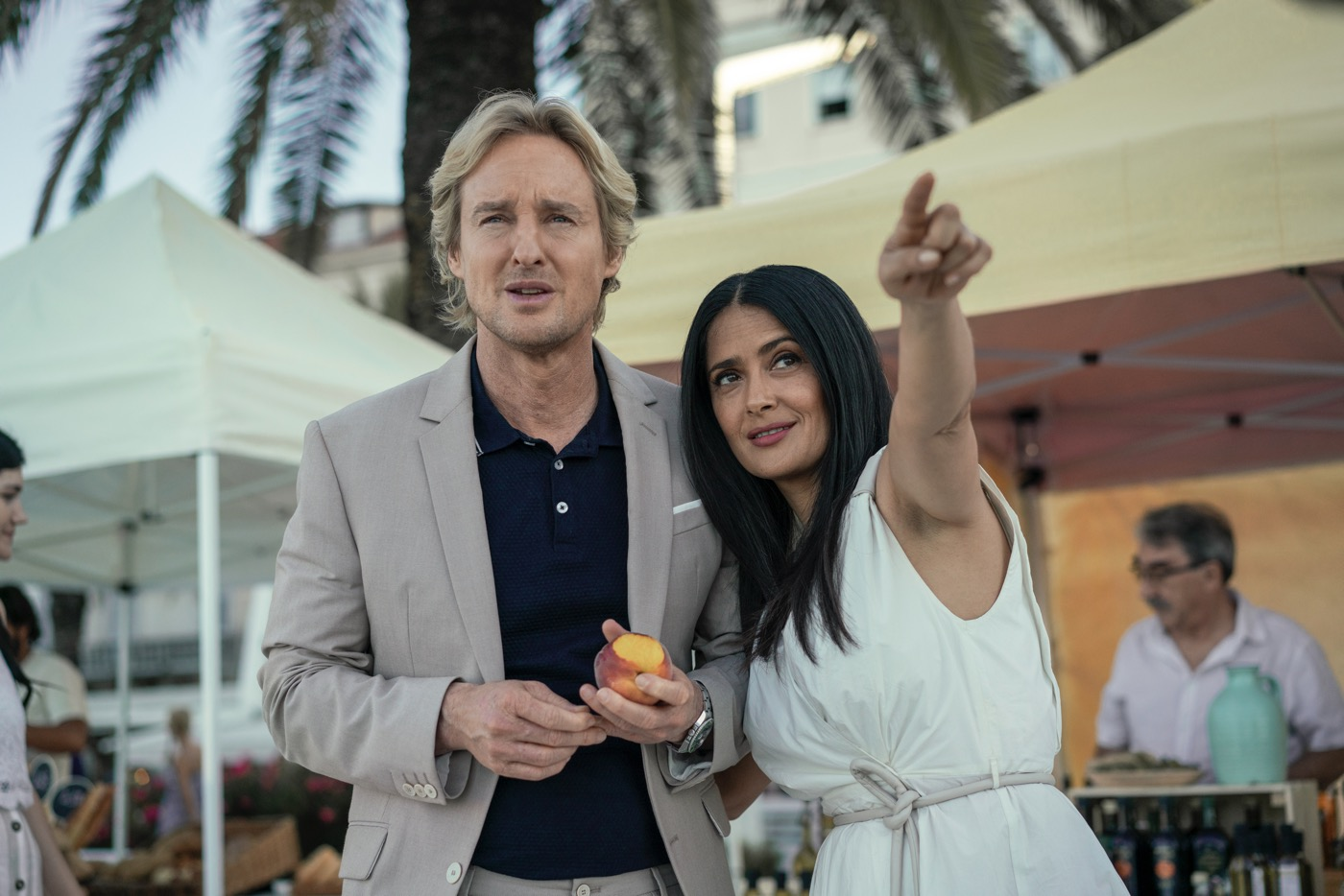 Salma Hayek and Owen Wilson star in BLISS Photo: Hilary Bronwyn Gayle/Amazon Studios