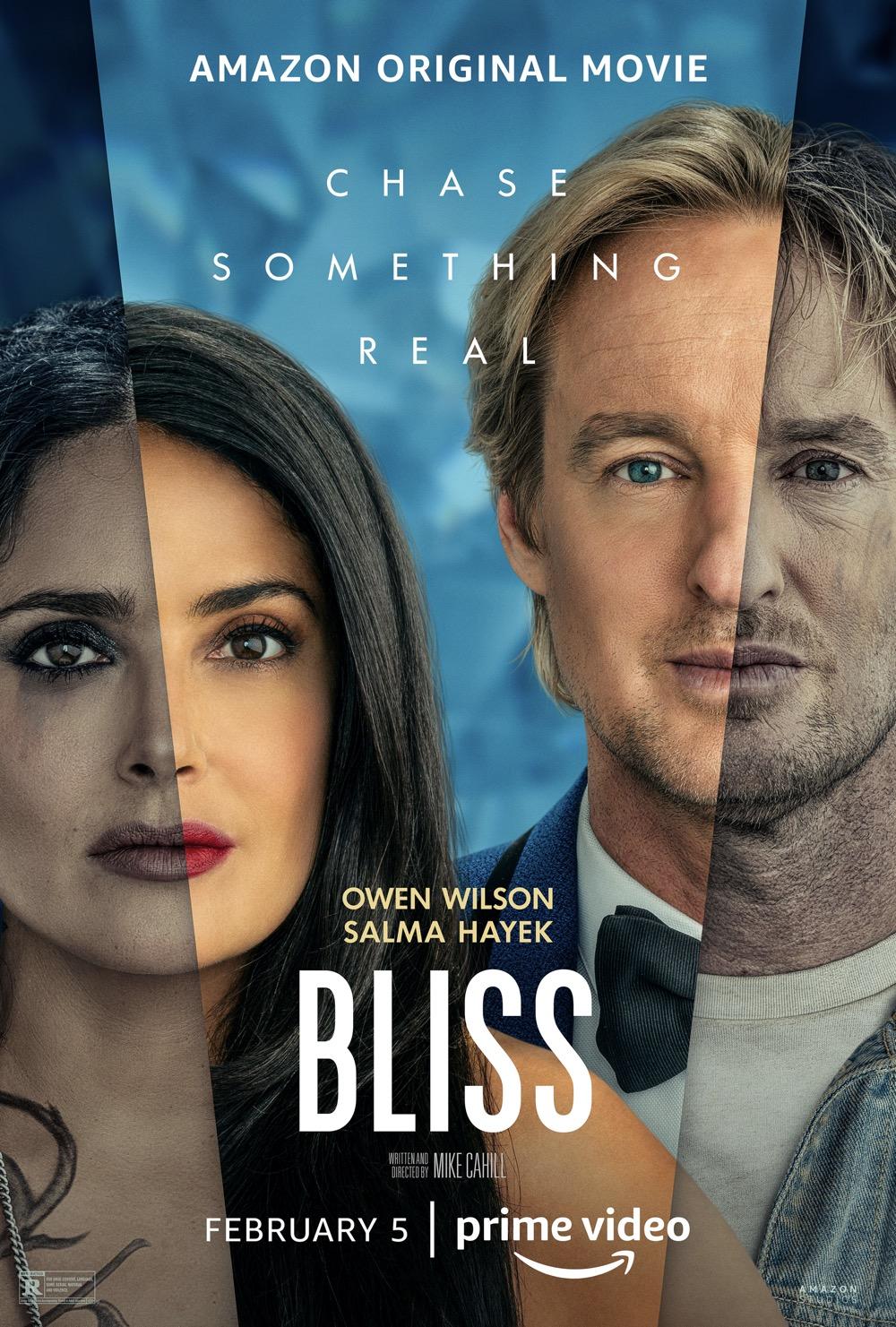 Bliss Movie Poster Owen Wilson Salma Hayek