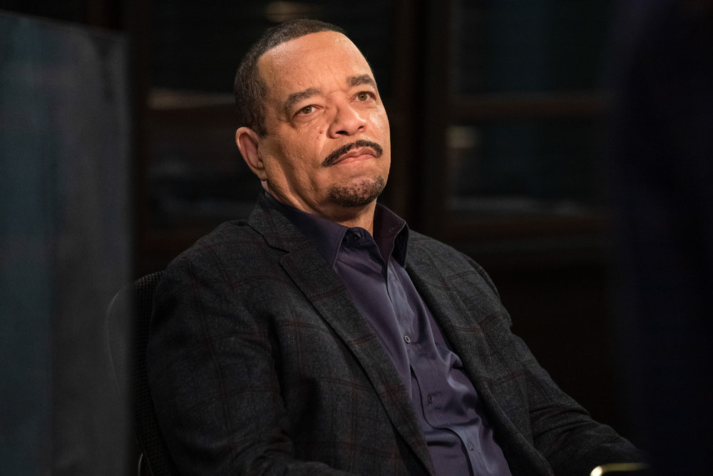 """LAW & ORDER SVU Season 22 Episode 5 -- """"Turn Me On, Take Me Private"""" Episode 22004 -- Pictured: Ice T as Detective Odafin """"Fin"""" Tutuola -- (Photo by: Virginia Sherwood/NBC)"""