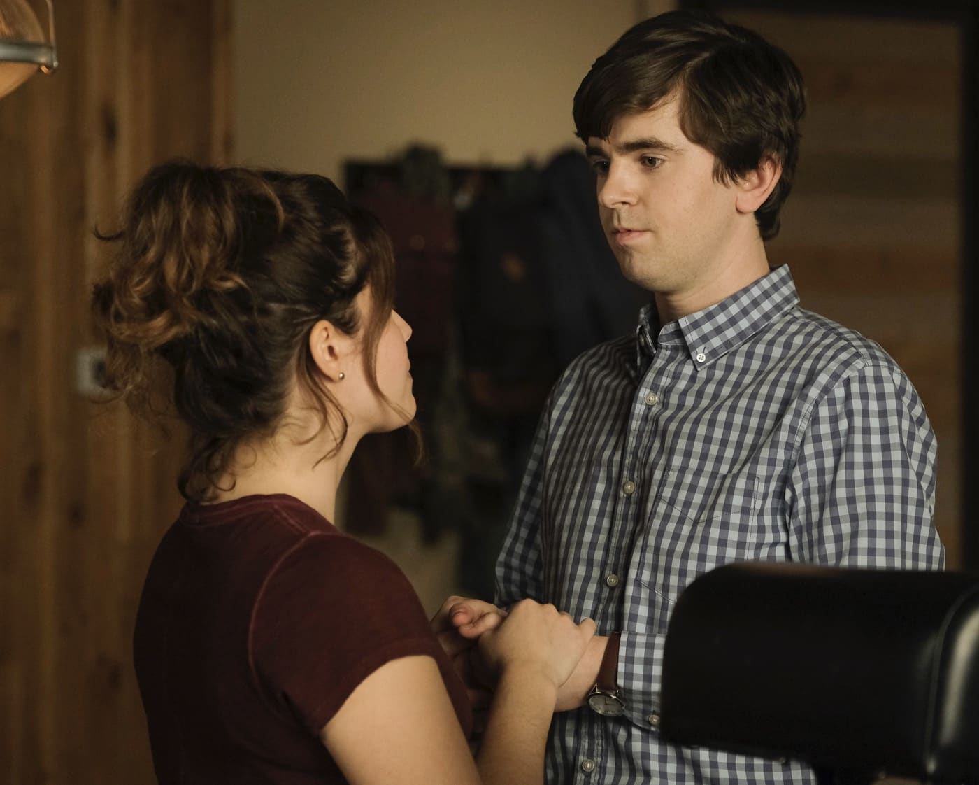 THE GOOD DOCTOR Season 4 Episode 7 The Uncertainty Principle PAIGE SPARA, FREDDIE HIGHMORE
