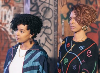 Salt-N-Pepa (L to R) GG Townson and Laila Odom star in Salt-N-Pepa premiering January 23rd at 8pm ET/PT on Lifetime. Photo by Courtesy of Lifetime Copyright 2021