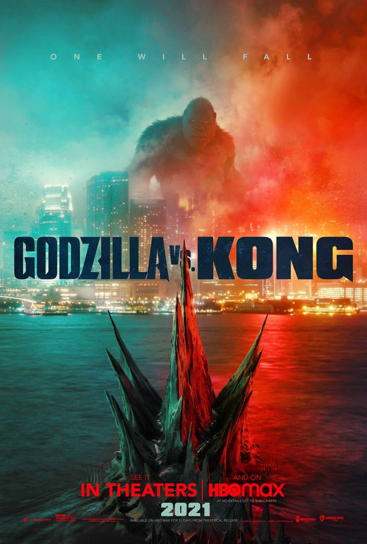 Godzilla vs Kong Poster HBO Max