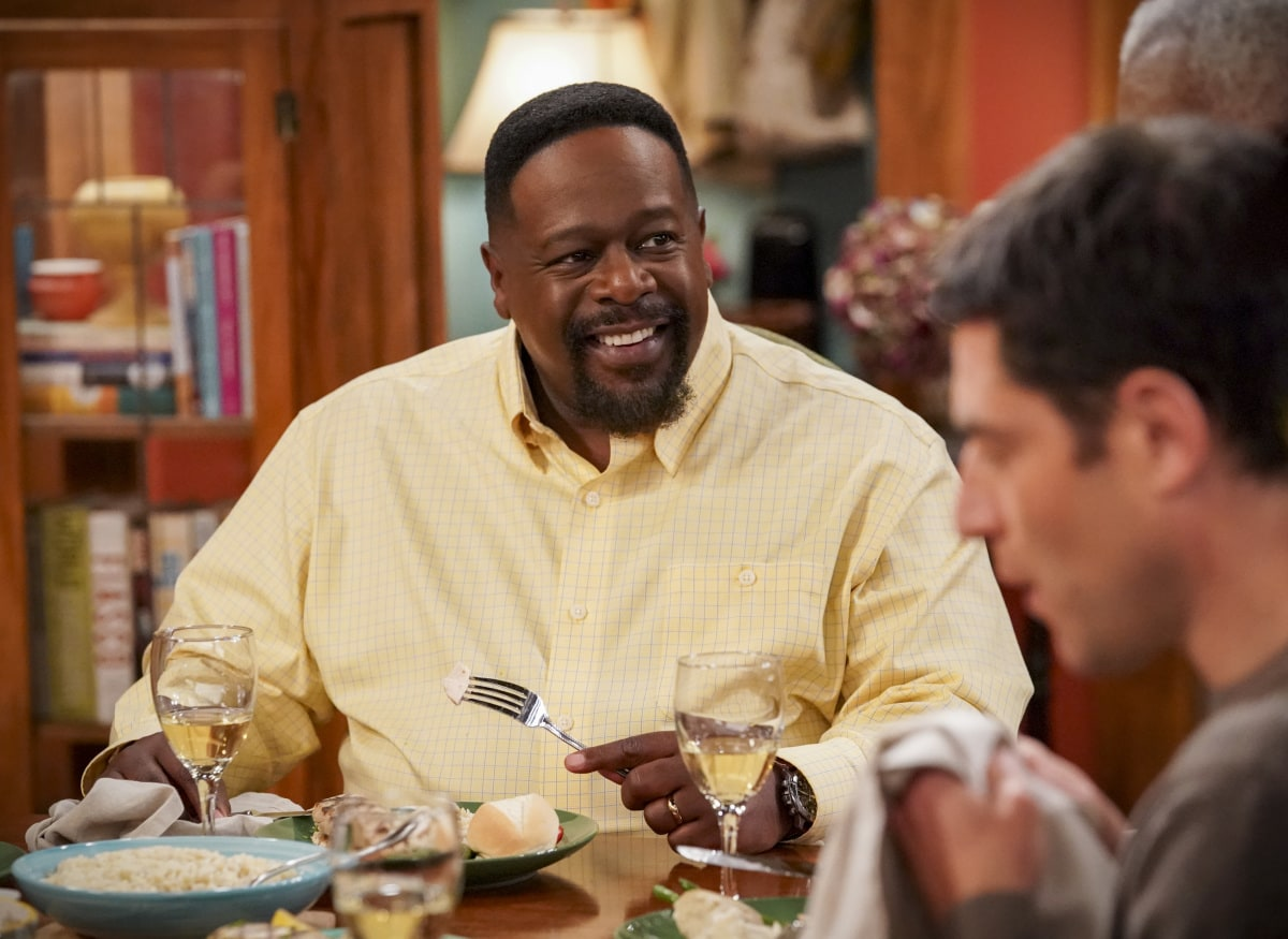 """THE NEIGHBORHOOD Season 3 Episode 8 """"Welcome to the Property"""" - Pictured: Cedric the Entertainer (Calvin Butler). When Calvin discovers a member of the community plans to sell to greedy developers, he vows to find a buyer closer to home instead. However, the Butlers and Johnsons soon realize that the dilapidated property will require more work than they expected, on THE NEIGHBORHOOD, Monday, Jan. 25 (8:00-8:30 PM, ET/PT) on the CBS Television Network. Photo: Monty Brinton/CBS ©2020 CBS Broadcasting, Inc. All Rights Reserved."""