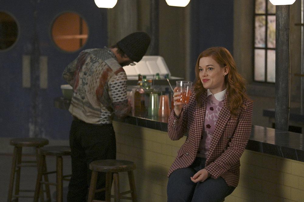 """PLAYLIST Season 2 Episode 4 ZOEY'S EXTRAORDINARY PLAYLIST -- """"Zoey's Extraordinary Employee"""" Episode 204 -- Pictured: Jane Levy as Zoey Clarke -- (Photo by: Sergei Bachlakov/NBC)"""