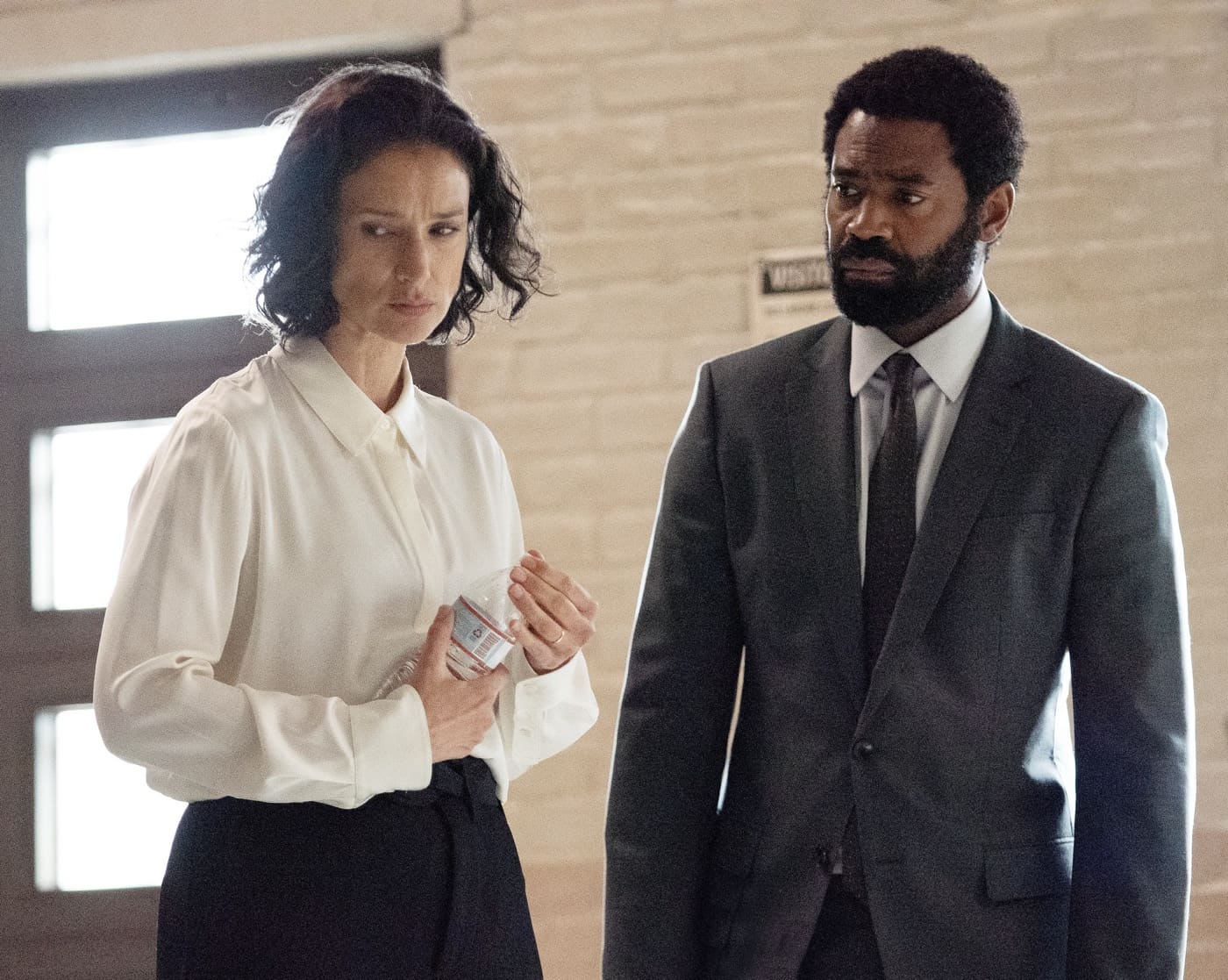 FOR LIFE Season 2 Episode 6 INDIRA VARMA, NICHOLAS PINNOCK