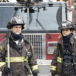 "CHICAGO FIRE Season 9 Episode 4 CHICAGO FIRE -- ""Funny What Things Remind Us"" Episode 904 -- Pictured: (l-r) Jesse Spencer as Matthew Casey, Miranda Rae Mayo as Stella Kidd -- (Photo by: Adrian S. Burrows Sr./NBC)"