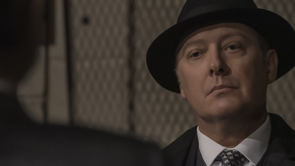 """THE BLACKLIST Season 8 Episode 4 -- """"Elizabeth Keen (#1)"""" Episode 804 -- Pictured in this screen grab: James Spader as Raymond """"Red"""" Reddington -- (Photo by: Sony Pictures Television)"""