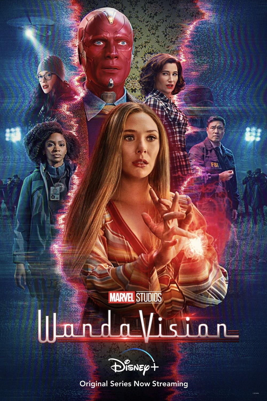 WandaVision Midseason Poster Key Art