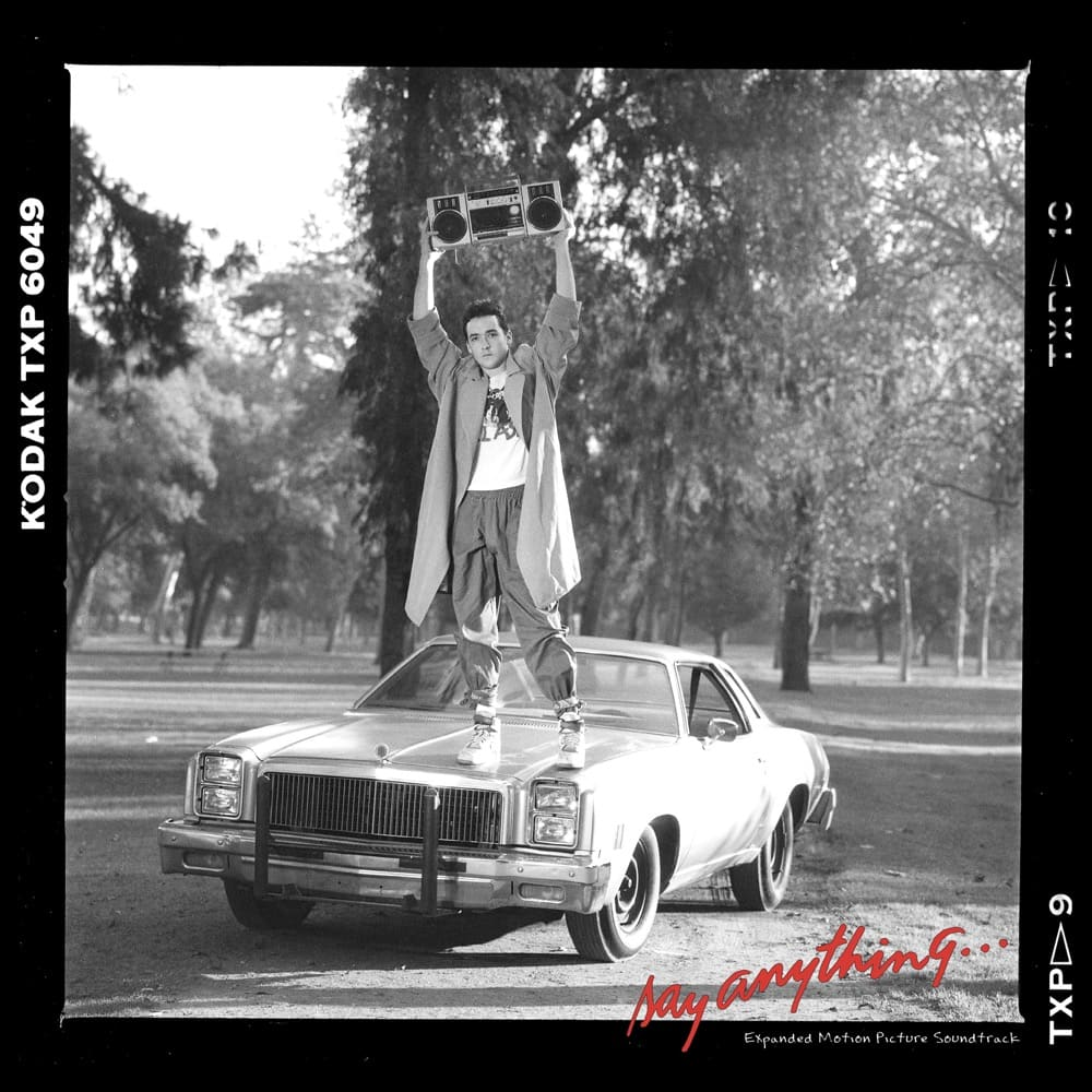 1. SAY ANYTHING Front Cover