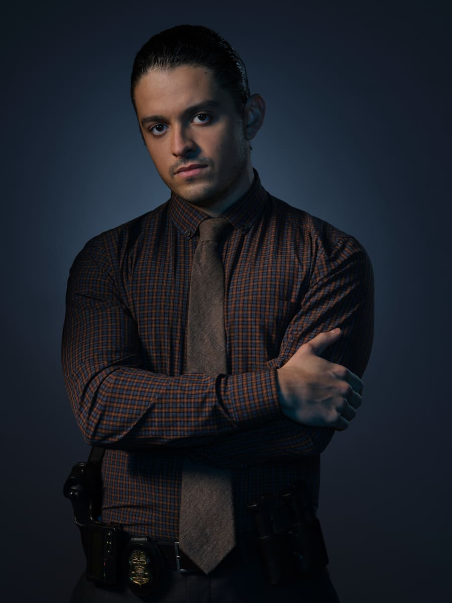 Pictured Lucca De Oliveira as Tomas Esquivel in CLARICE on the CBS Television Network. Photo: Brooke Palmer ©2020 CBS Broadcasting Inc. All Rights Reserved