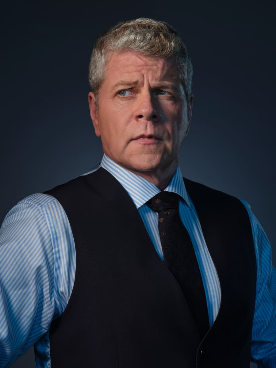 Pictured Michael Cudlitz as Paul Krendler in CLARICE on the CBS Television Network. Photo: Brooke Palmer ©2020 CBS Broadcasting Inc. All Rights Reserved
