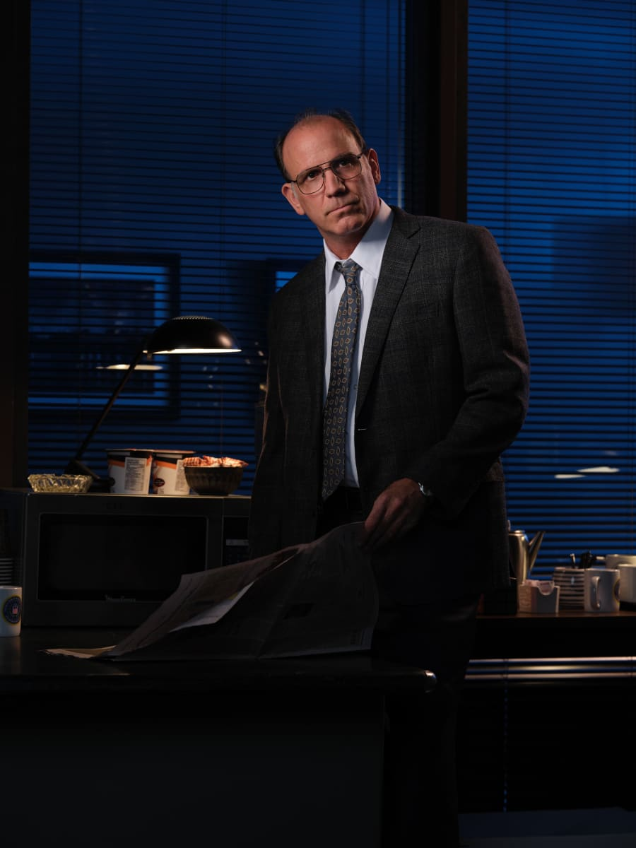 Pictured Nick Sandow as Agent Clarke in CLARICE on the CBS Television Network. Photo: Brooke Palmer ©2020 CBS Broadcasting Inc. All Rights Reserved